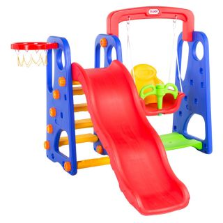 LZ MULTICOLOR SLIDE ,SWING AND BALL RING