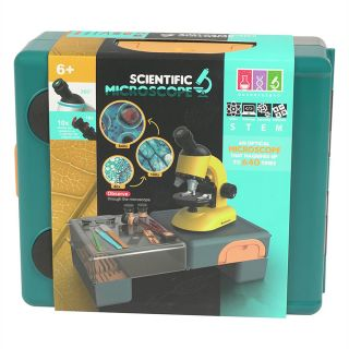 ROTATING SCIENTIFIC MICROSCOPE