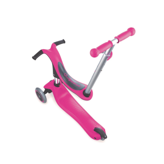 4IN1 SCOOTER TRANSLUCENT PINK