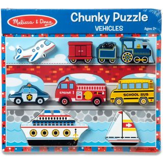 VEHICLES CHUNKY PUZZLES