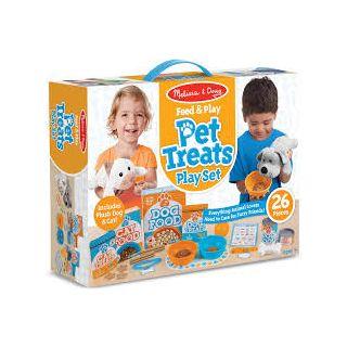 FEED & PLAY PET TREATS PLAY SET