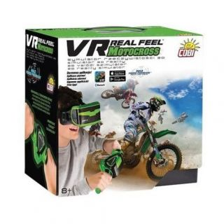 VR REAL FEEL MOTOCROSS WITH HEADSET- CONTROLLER & IOS/ANDROID APP