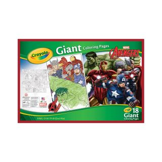 GIANT COLORING PAGES, AVENGERS ASSEMBLE