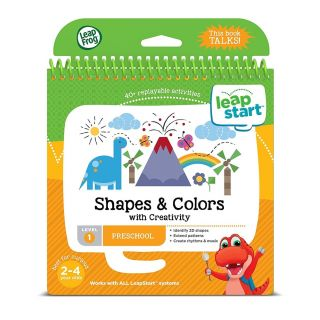 LEAPSTART 3D SHAPES AND COLOURS WITH CREATIVITY ENGLISH