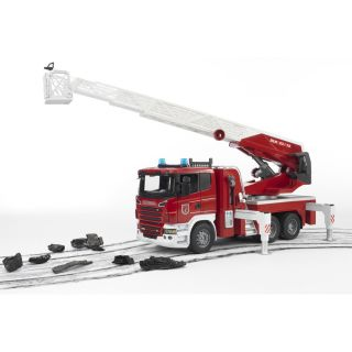 SCANIA R-SERIES FIRE ENGINE SLEWING LADDER WATERPUMP AND LIGHT & SOUND