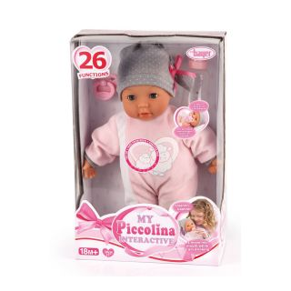 PICCOLINA INTERACTIVE BABY DOLL  WITH 26 FUNCTIONS