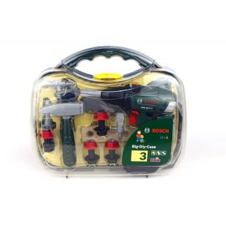 BOSCH CORDLESS DRILL CASE SET WITH ACCESSORIES