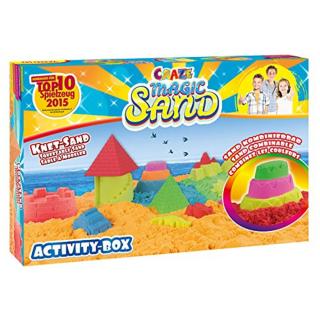 CRAZE MAGIC SAND ACTIVITY BOX SAND COMBINABLE