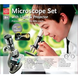 30MM 41CM TELESCOPE AND MICROSCOPE SCIENCE KIT
