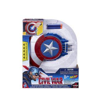 Avengers Marvel Captain America Blaster Reveal Shield