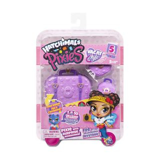 HATCHIMALS PIXIES, VACAY 2.5-INCH SURPRISE COLLECTIBLE DOLL AND ACCESSORIES