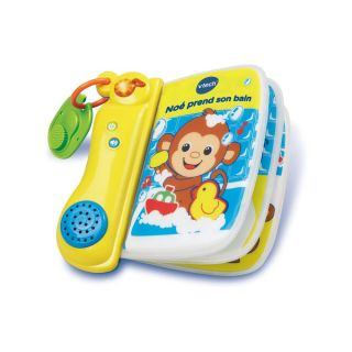 EARLY LEARNING NOé PREND SON BAIN BOOK FRENCH