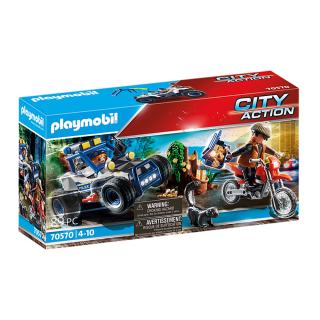 POLICE OFF-ROAD CAR WITH JEWEL THIEF 70570