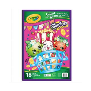 COLORING 18 GIANT SHOPKINS PAGES