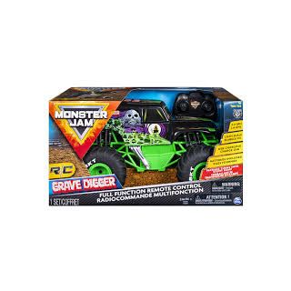 MONSTER JAM 1TO15 GRAVE DIGGER