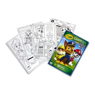 PAW PATROL GIANT COLORING PAGES