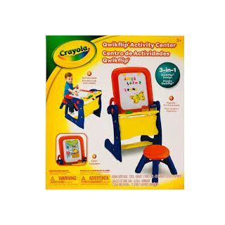 QWIKFLIP ACTIVITY CENTER WITH STOOL