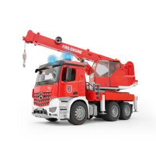 MERCEDES BENZ AROCS FIRE ENGINE CRANE TRUCK WITH SOUND&LIGHT MODULE