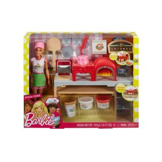 PIZZA CHEF DOLL & PLAYSET