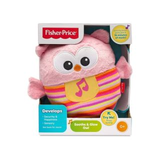 SOOTHE & GLOW OWL PINK