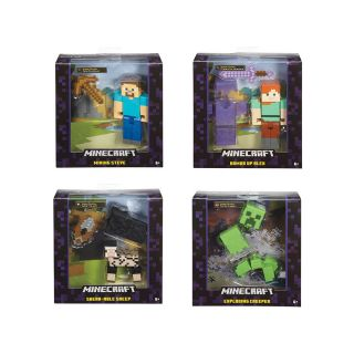MINECRAFT BASIC ACTION FIGURES ASSORTED