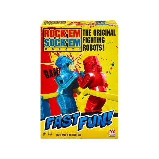FAST FUN ROCK'EM SOCK'EM