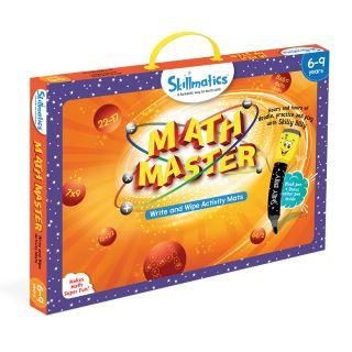 MATH MASTER,WRITE & WIPE ACTIVITY MATS