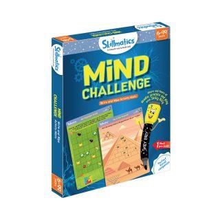 MIND CHALLENGE,WRITE & WIPE ACTIVITY MATS