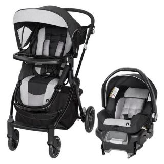 BABY TREND  CITY CLICKER PRO SNAP GEAR TRAVEL SYSTEM ,STROLLER AND SEAT