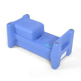 TWO CHILD STEP STOOL AND SEAT